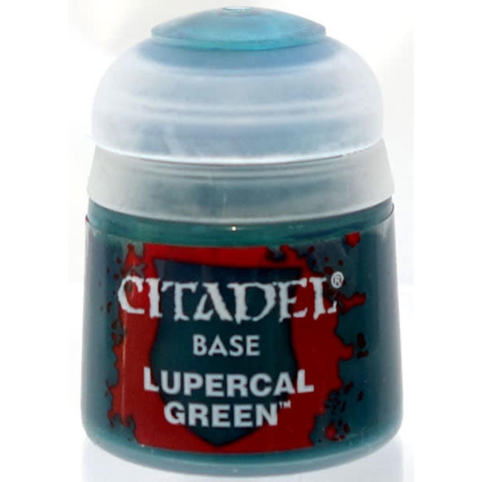 Games Workshop Citadel Paint: Lupercal Green Base 12 ml