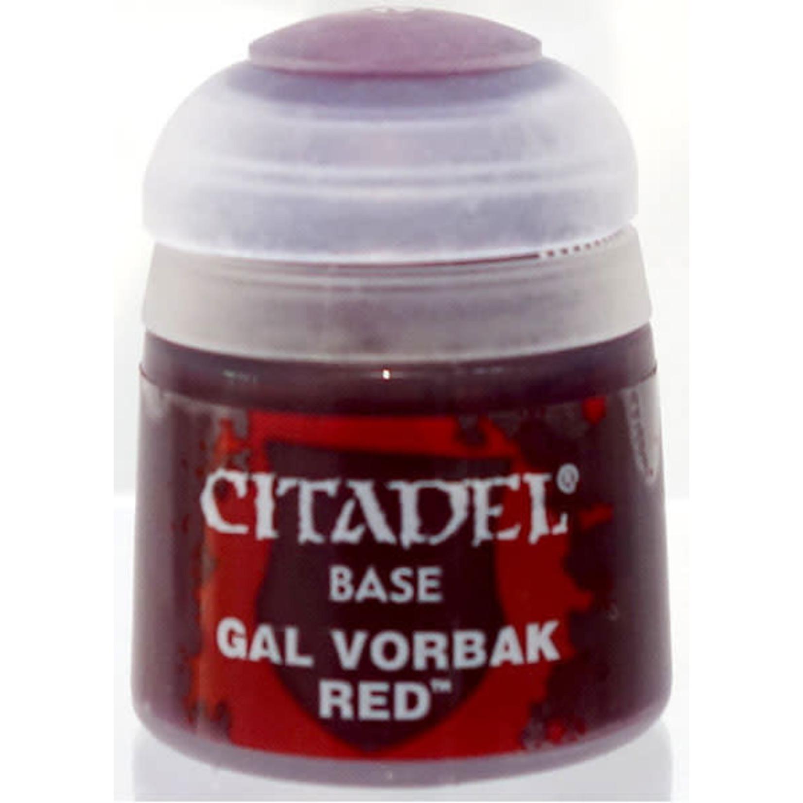 Games Workshop Citadel Paint: Gal Vorbak Red 12ml