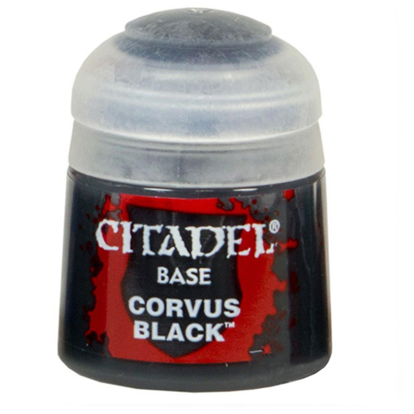 Games Workshop Citadel Paint: Corvus Black 12ml