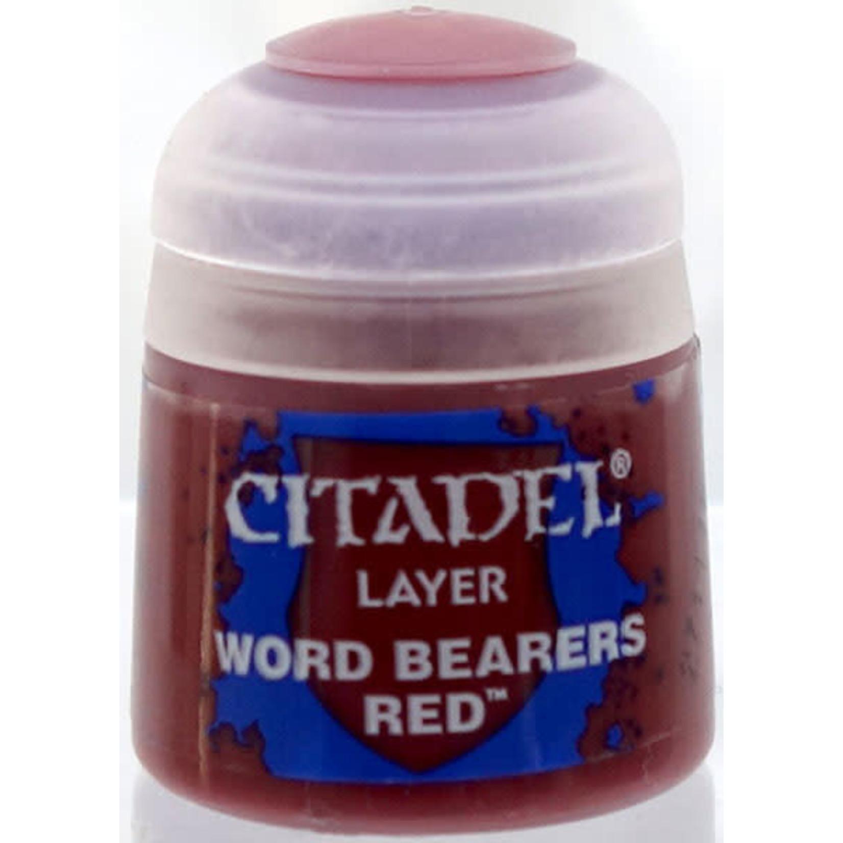 Games Workshop Citadel Paint: Word Bearers Red 12ml