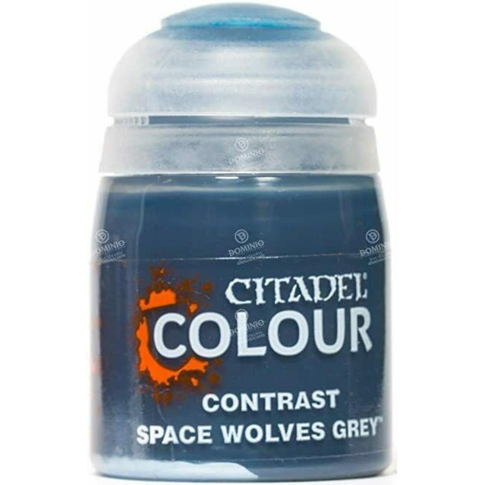 Games Workshop Citadel Paint: Space Wolves Grey Contrast (18 ml)