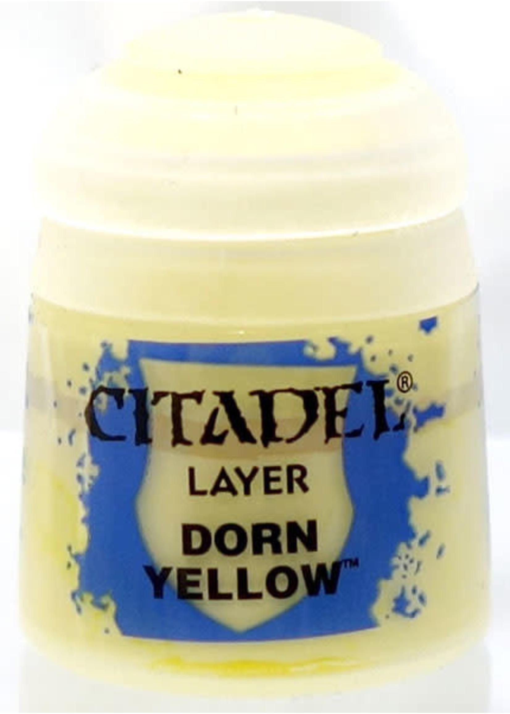 Games Workshop Citadel Paint: Dorn Yellow 12ml