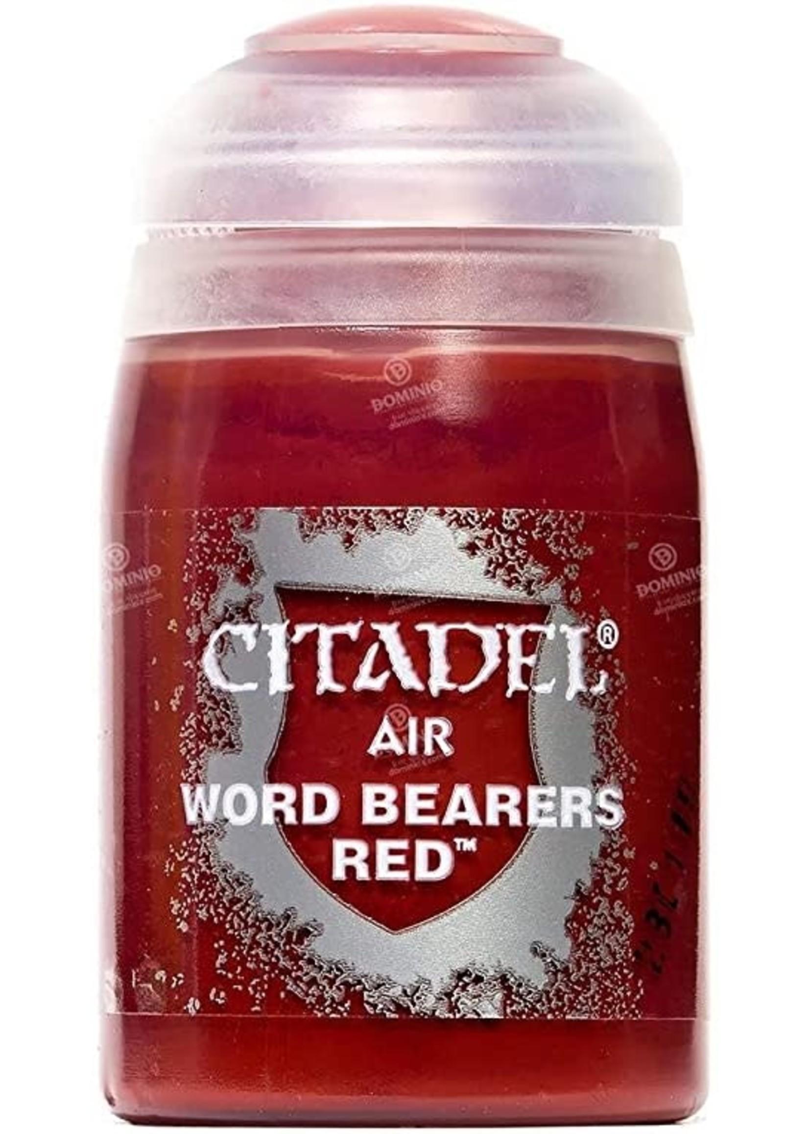Games Workshop Citadel Paint: Word Bearers Red Air (24 ml)