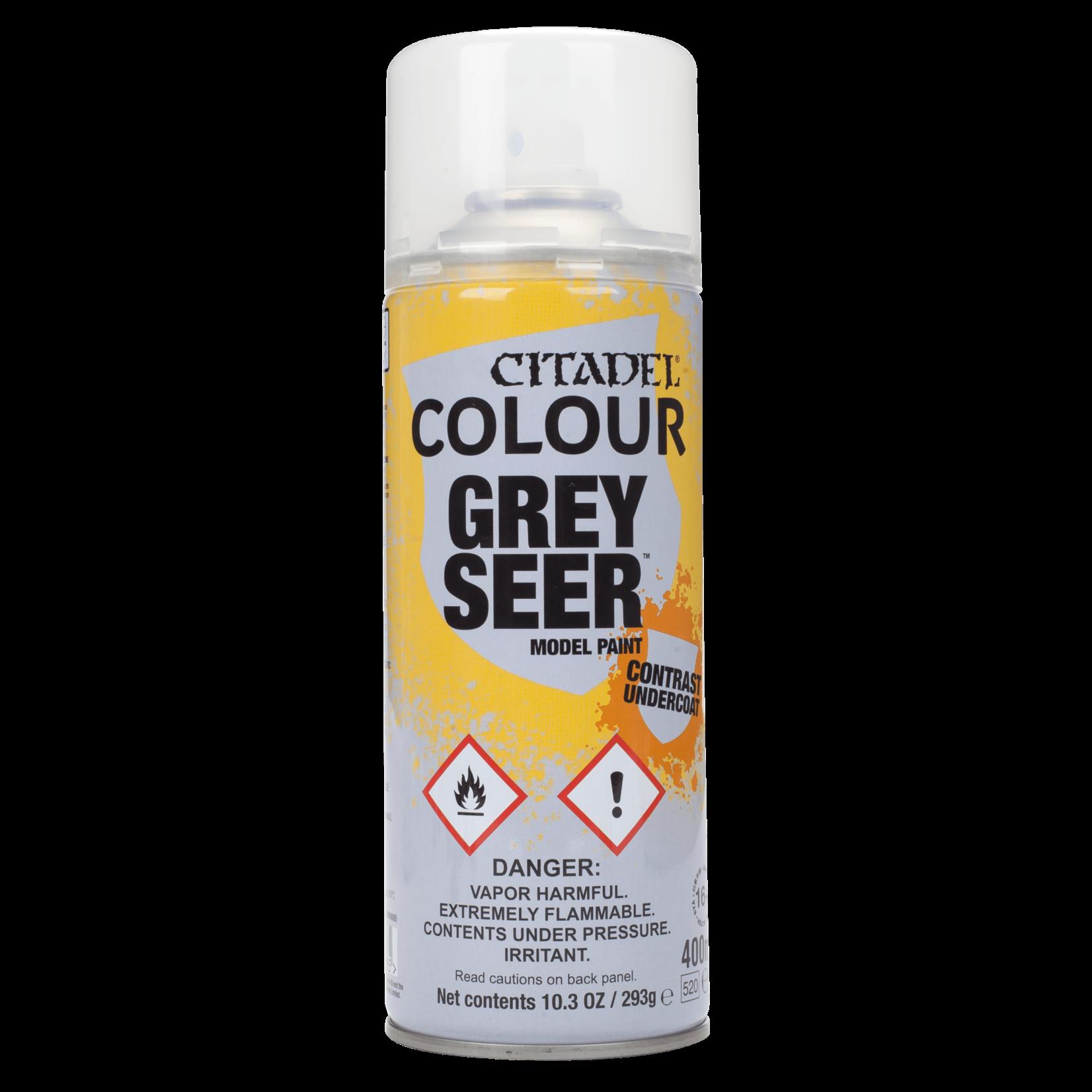Games Workshop Citadel Paint: Grey Seer Contrast Spray (400 ml)
