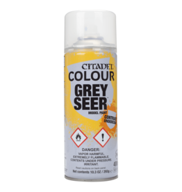 Games Workshop Citadel Paint: Grey Seer Contrast Spray (400 ml)
