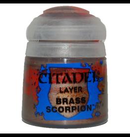 Games Workshop Citadel Paint: Brass Scorpion 12ml