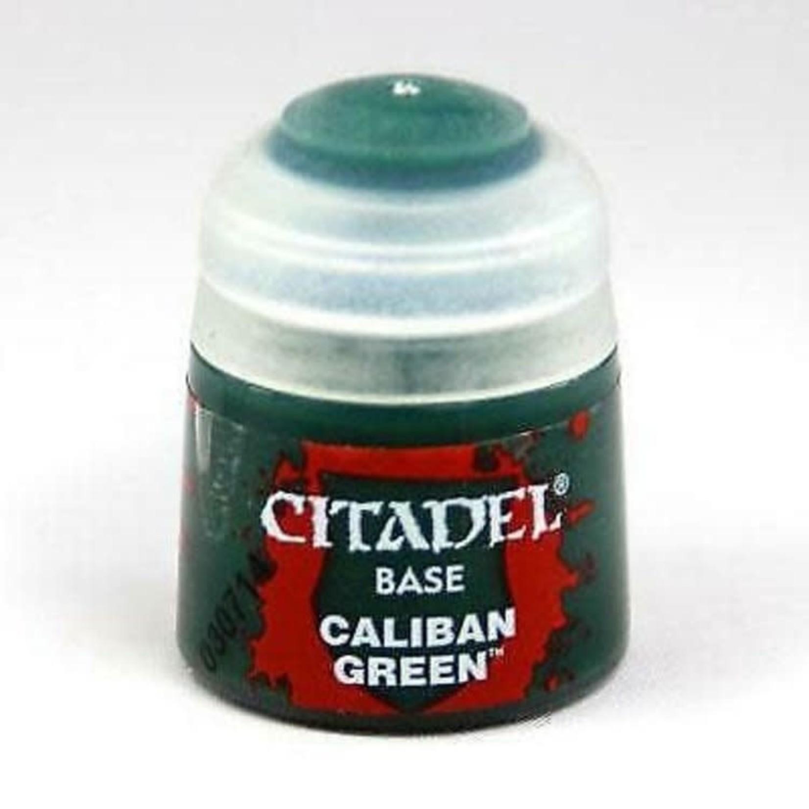 Games Workshop Citadel Paint: Caliban Green 12ml
