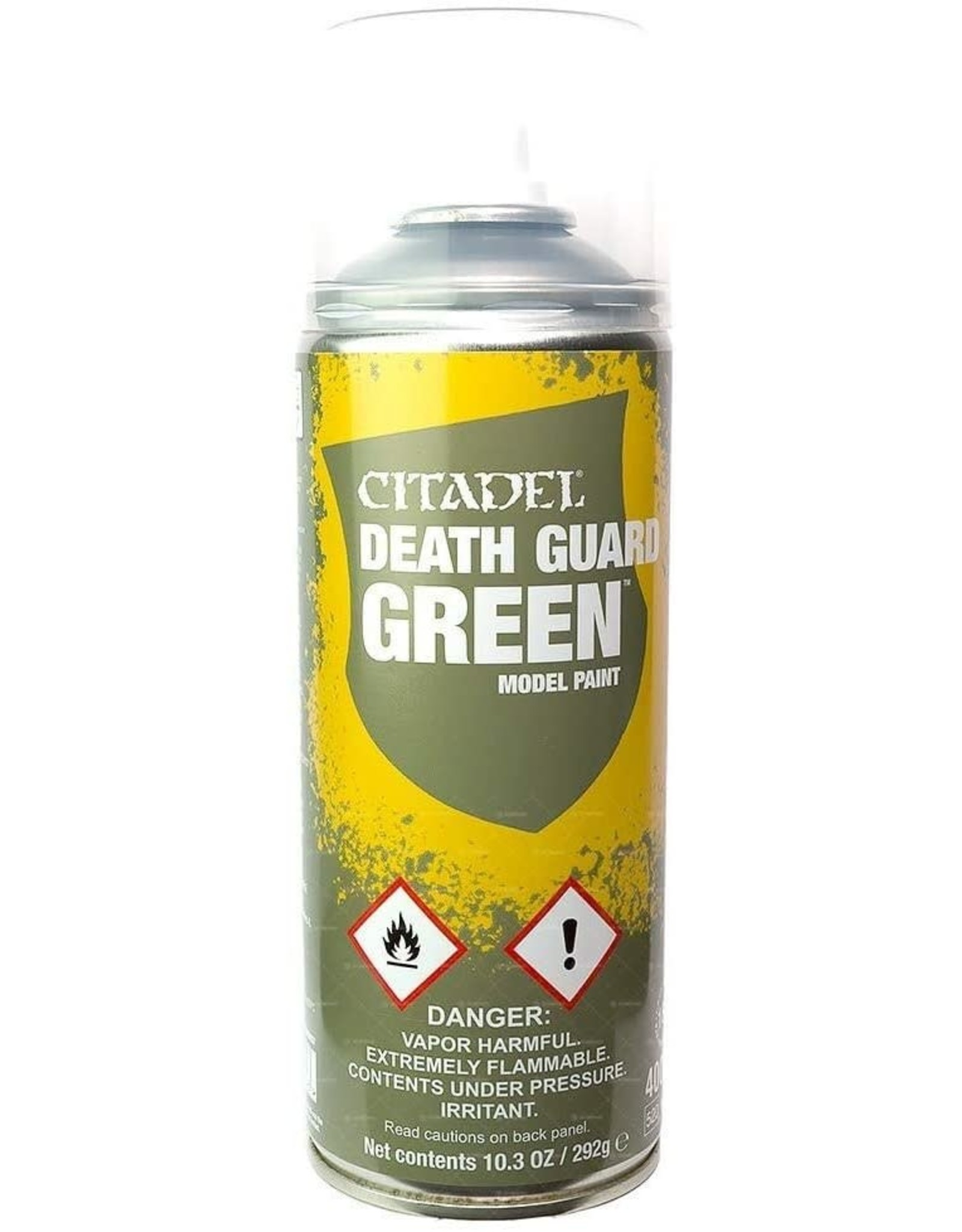 Games Workshop Citadel Paint: Death Guard Green Spray Paint 10oz