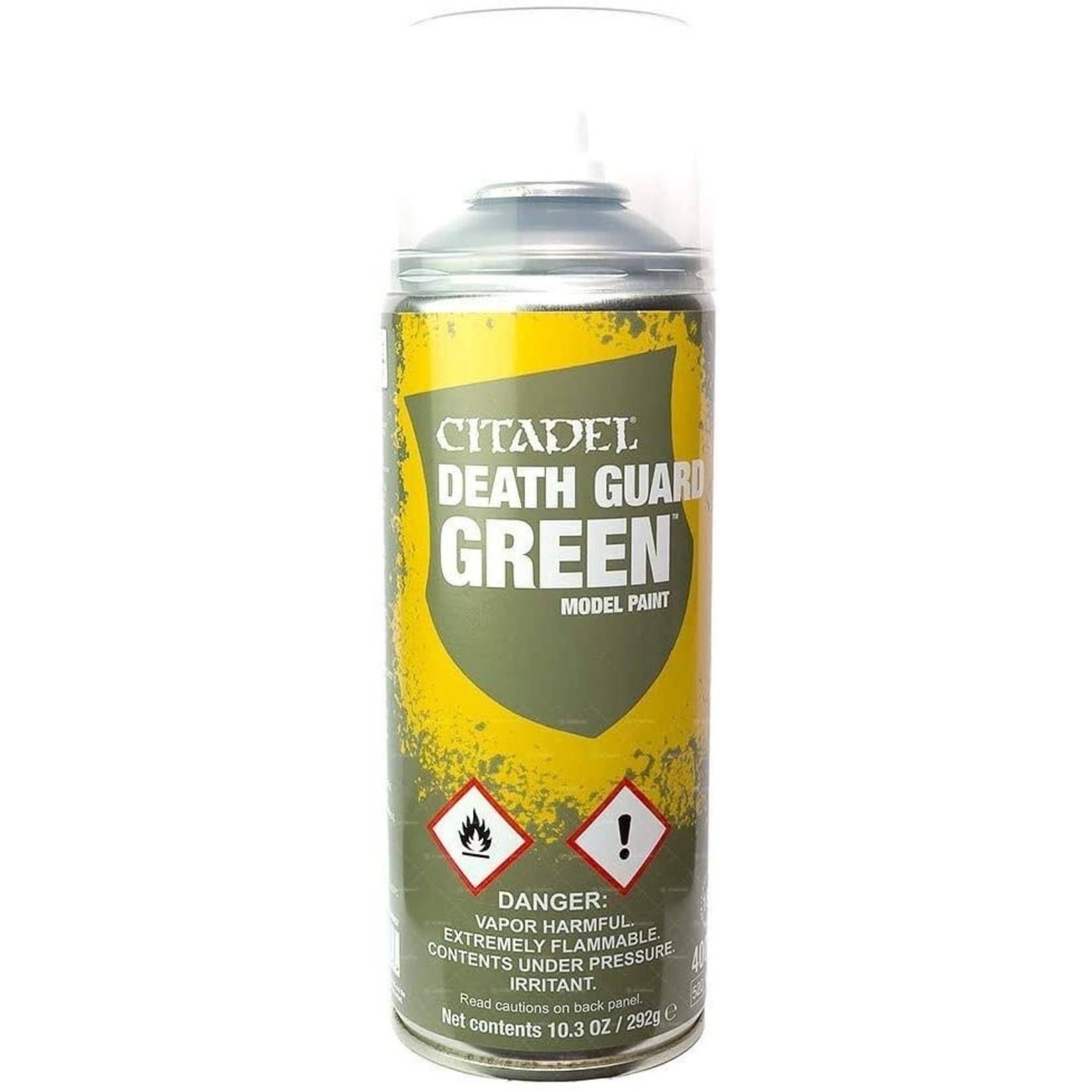 Games Workshop Citadel Paint: Death Guard Green Spray Paint 10oz