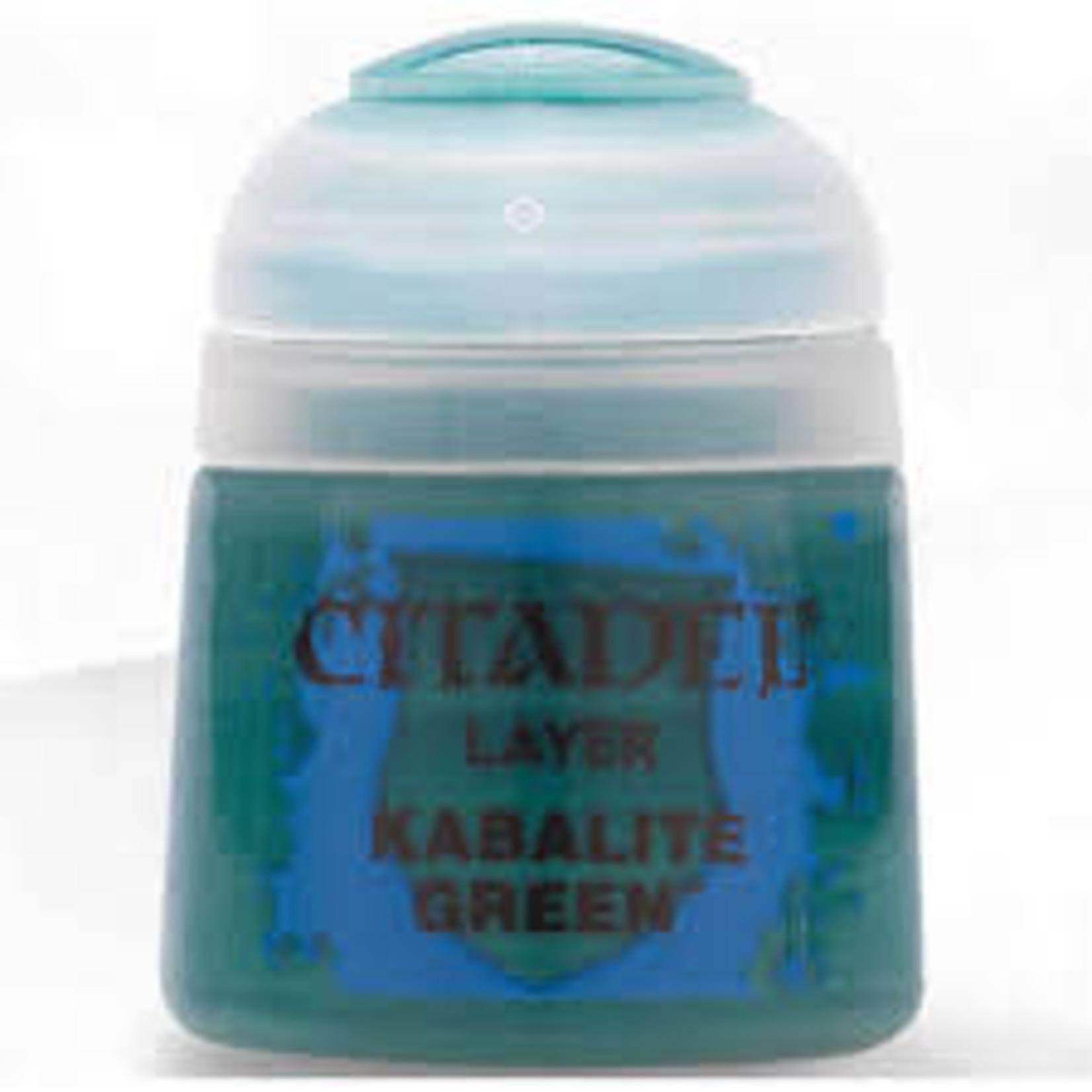 Games Workshop Citadel Paint: Kabalite Green 12ml