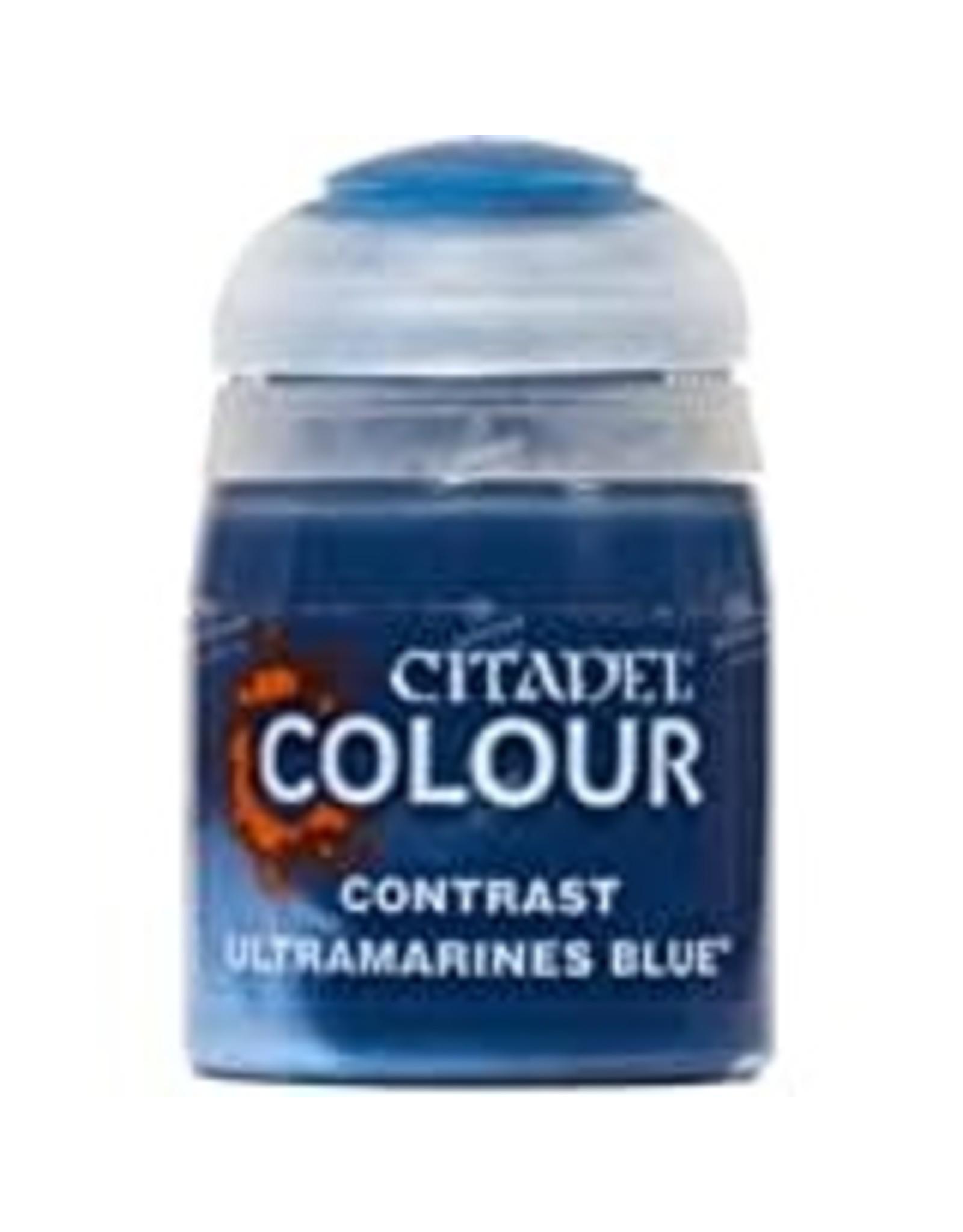 Games Workshop Citadel Paint: Ultramarines Blue Contrast (18 ml)