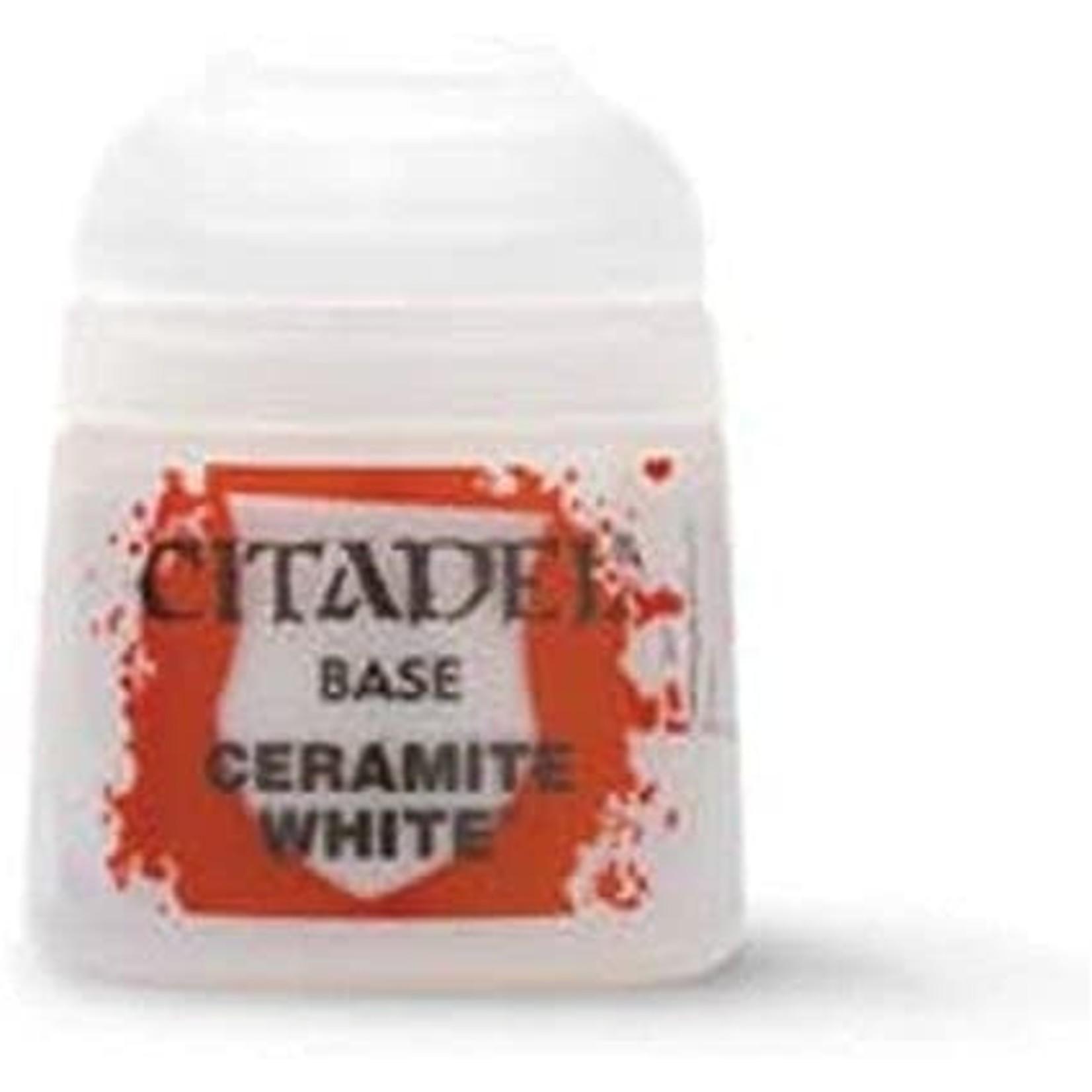Games Workshop Citadel Paint: Ceramite White 12ml