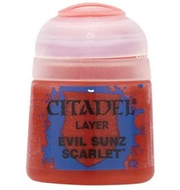 Games Workshop Citadel Paint: Evil Sunz Scarlet 12ml