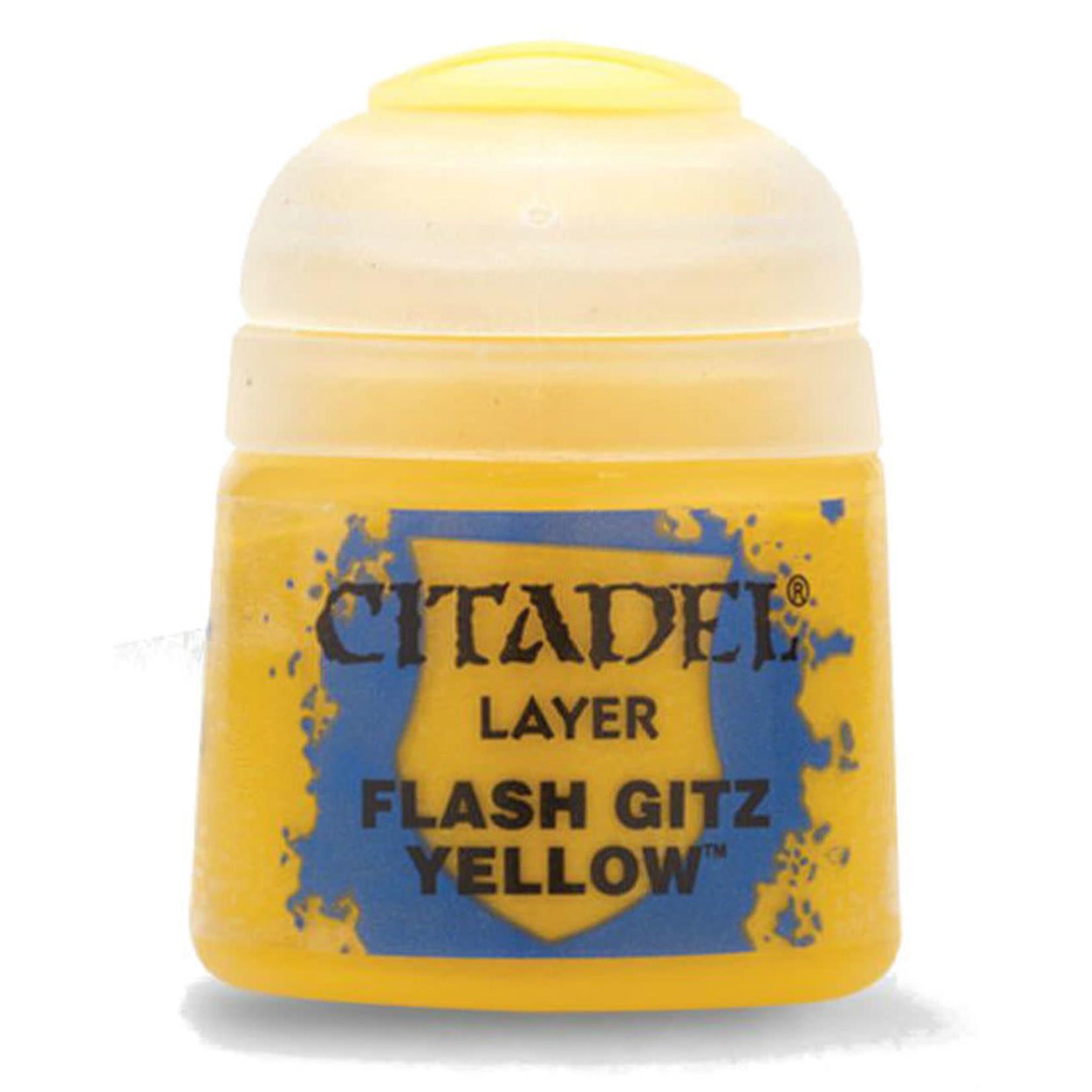Games Workshop Citadel Paint: Flash Gitz Yellow 12ml