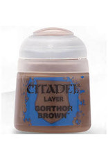 Games Workshop Citadel Paint: Gorthor Brown 12ml