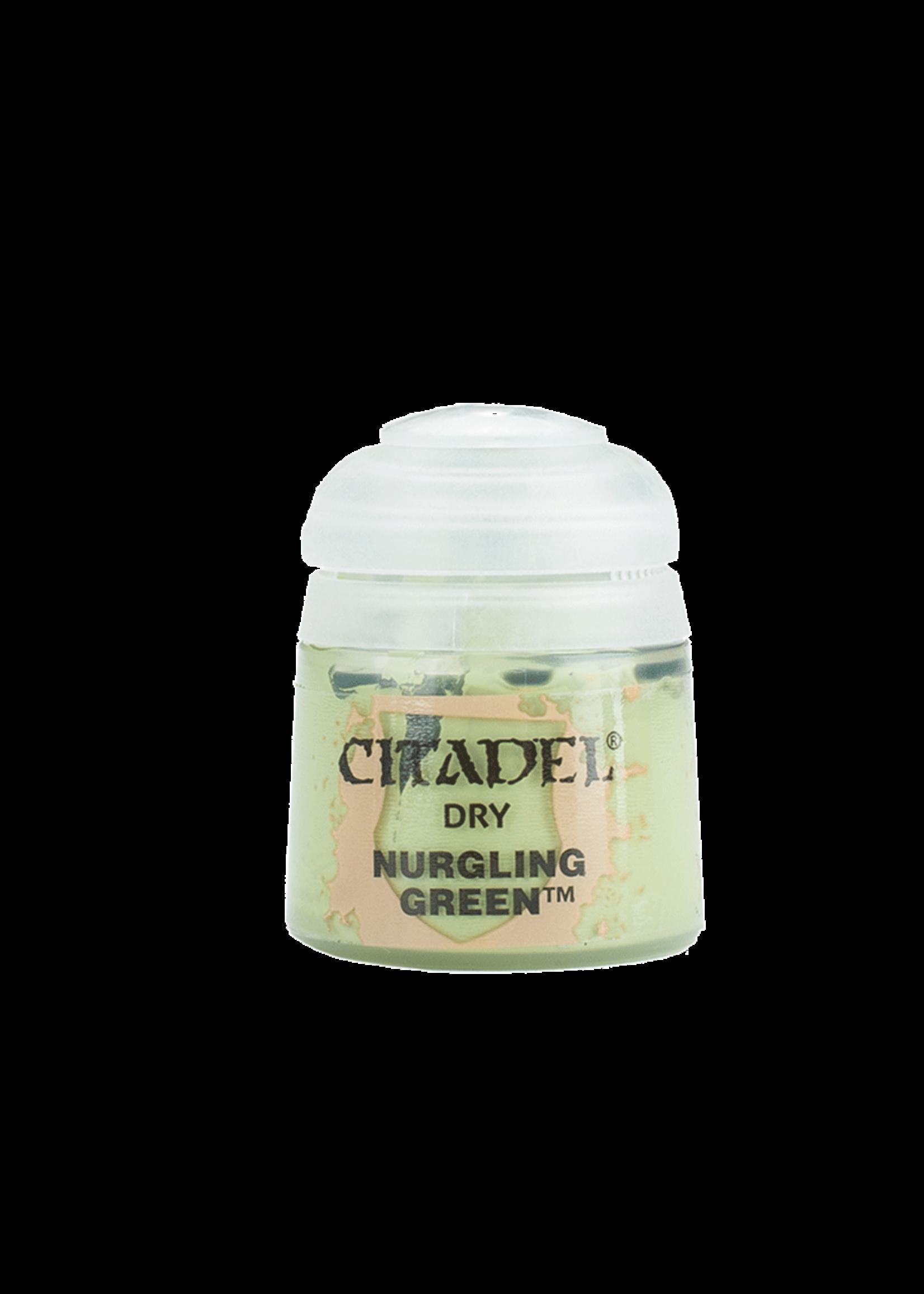 Games Workshop Citadel Paint: Nurgling Green Dry 12ml