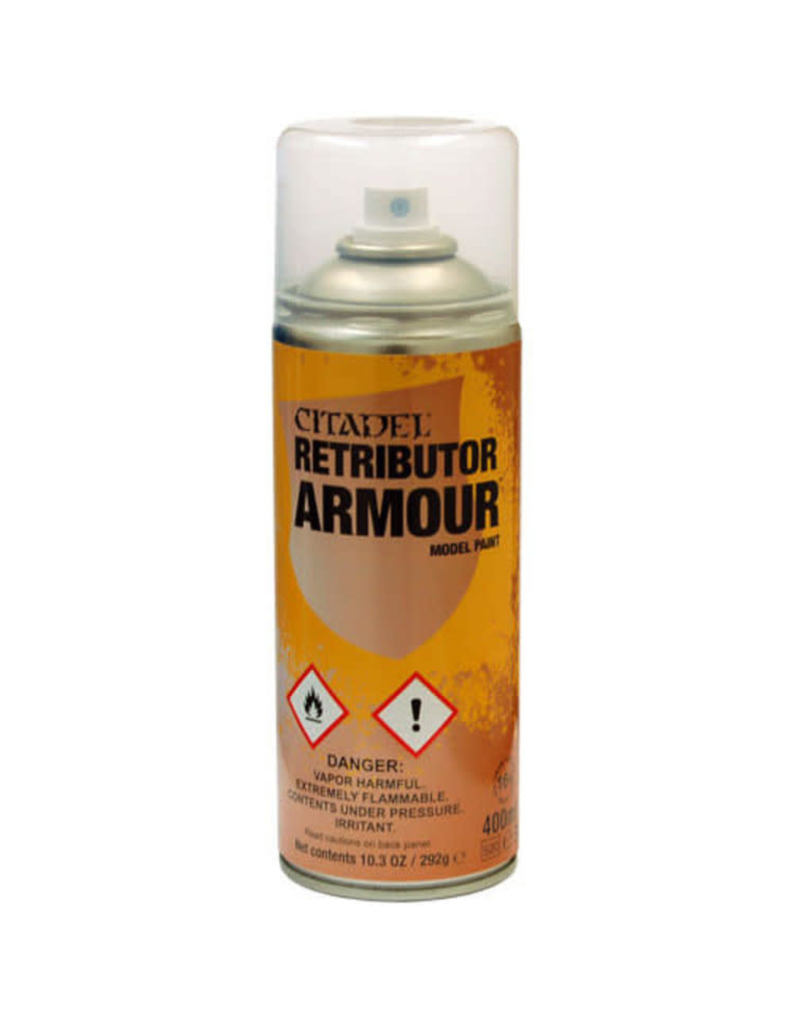 Games Workshop Citadel Paint: Retributor Armour Spray Paint 10oz