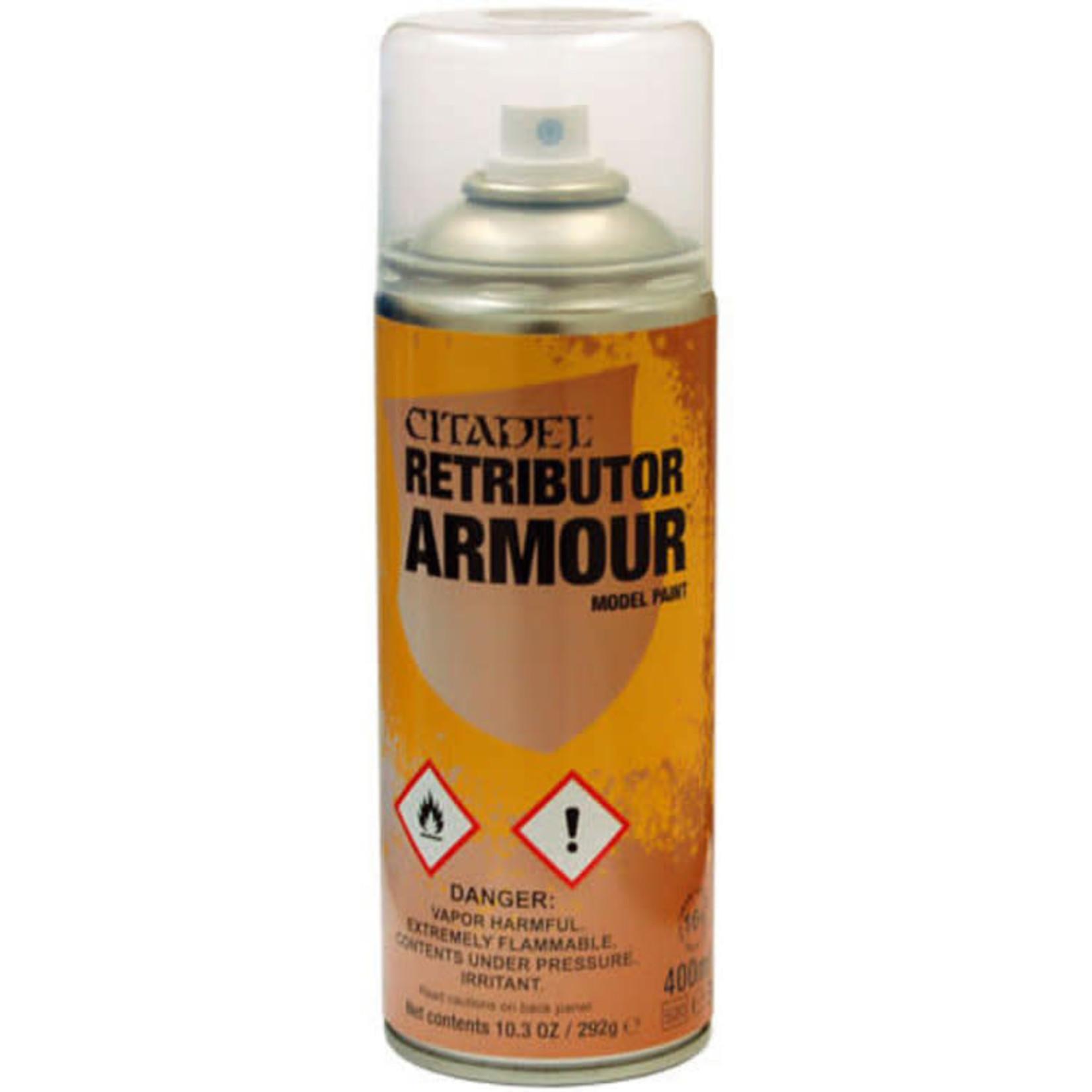 Games Workshop Citadel Paint: Retributor Armour Spray Paint 10oz