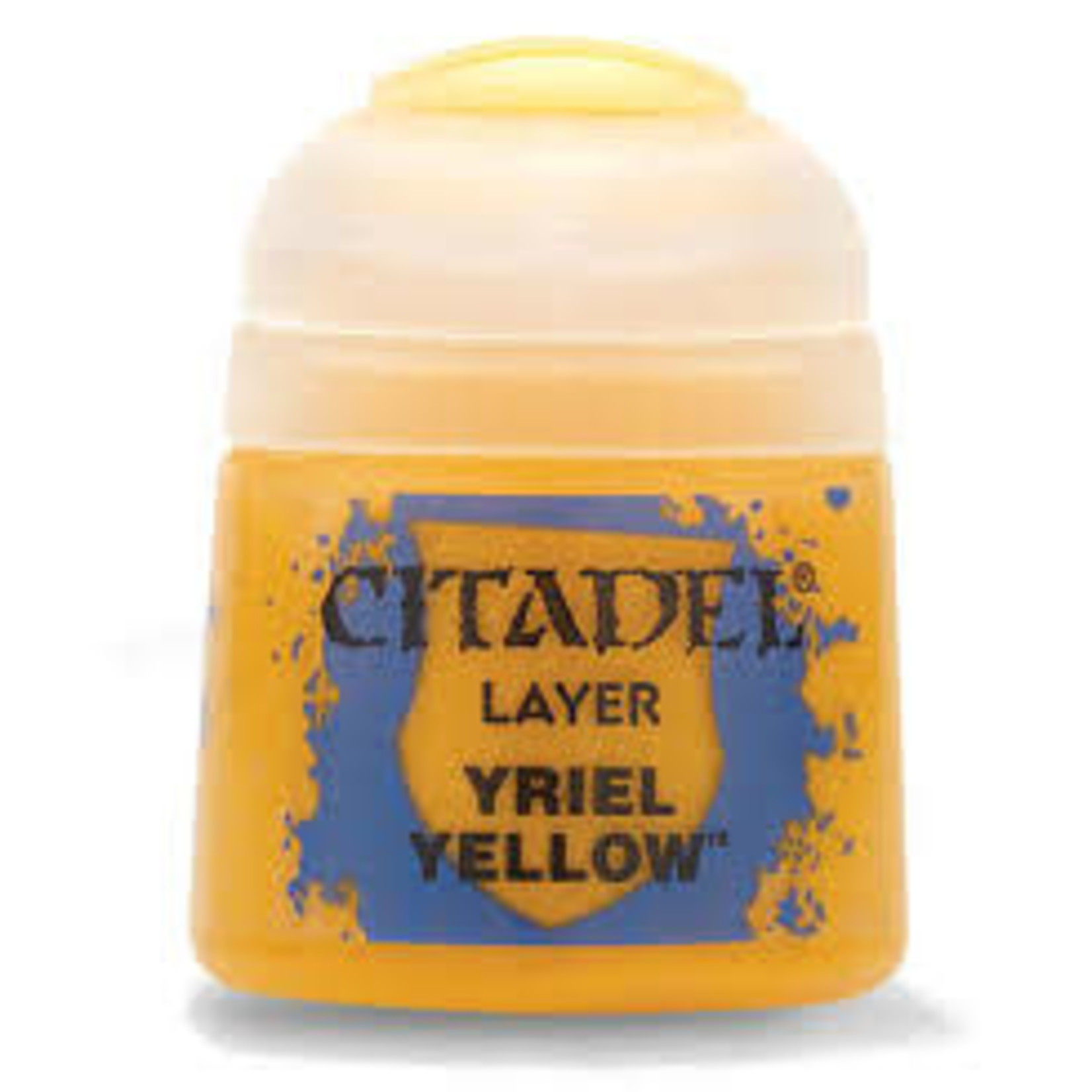 Games Workshop Citadel Paint: Yriel Yellow 12ml