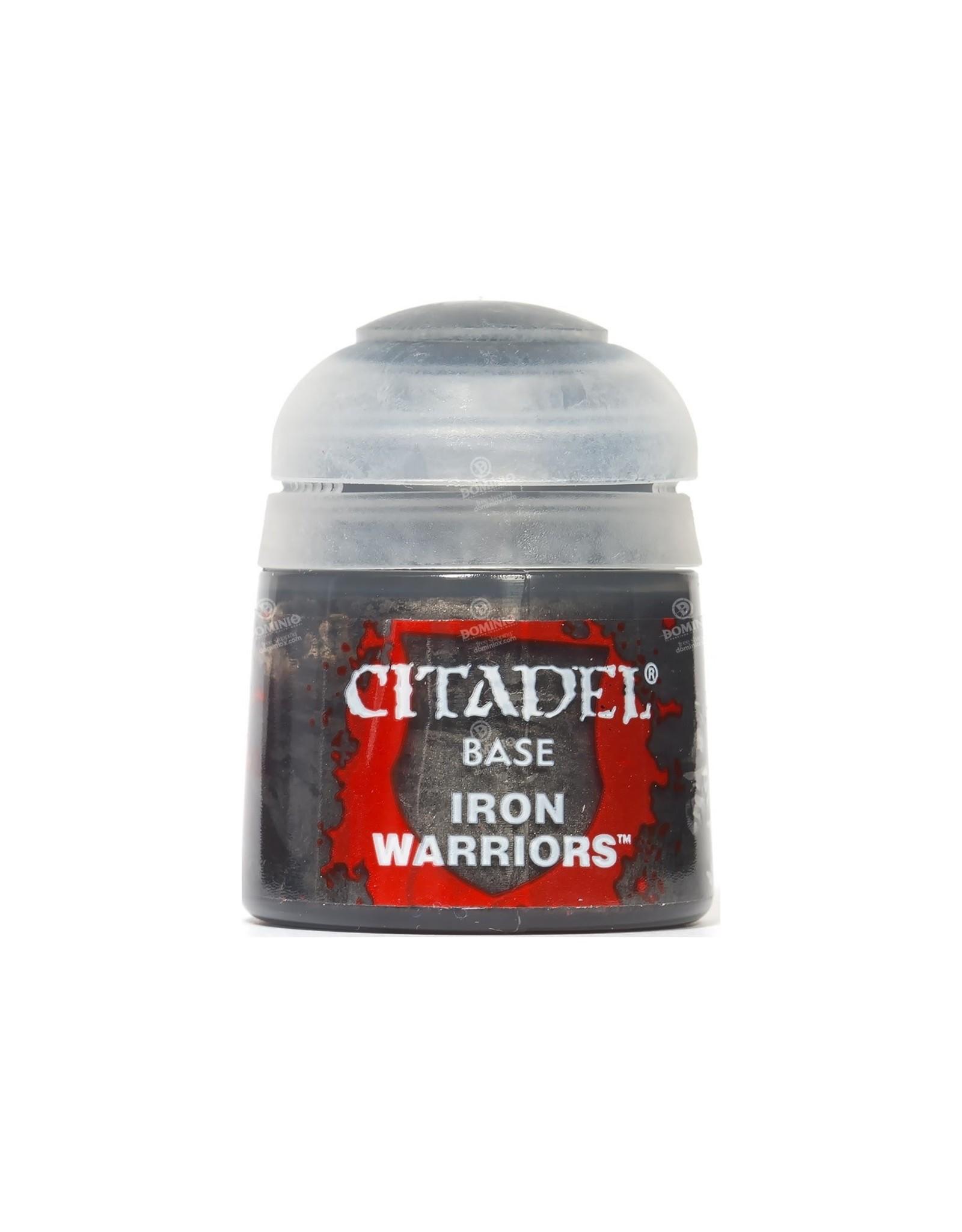 Games Workshop Citadel Paint: Iron Warriors Base 12 ml