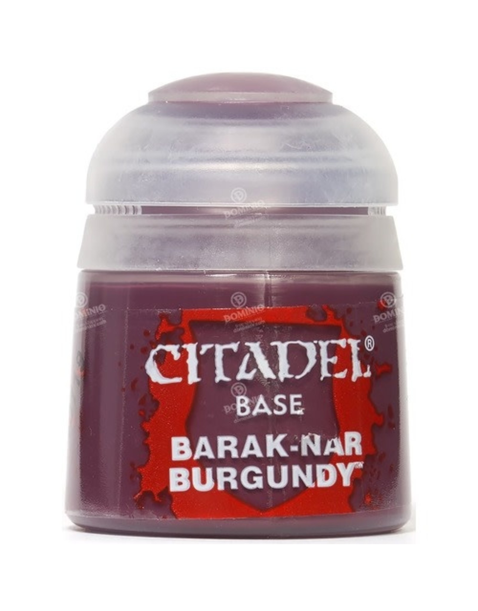 Games Workshop Citadel Paint: Barak-Nur Burgundy Base 12 ml