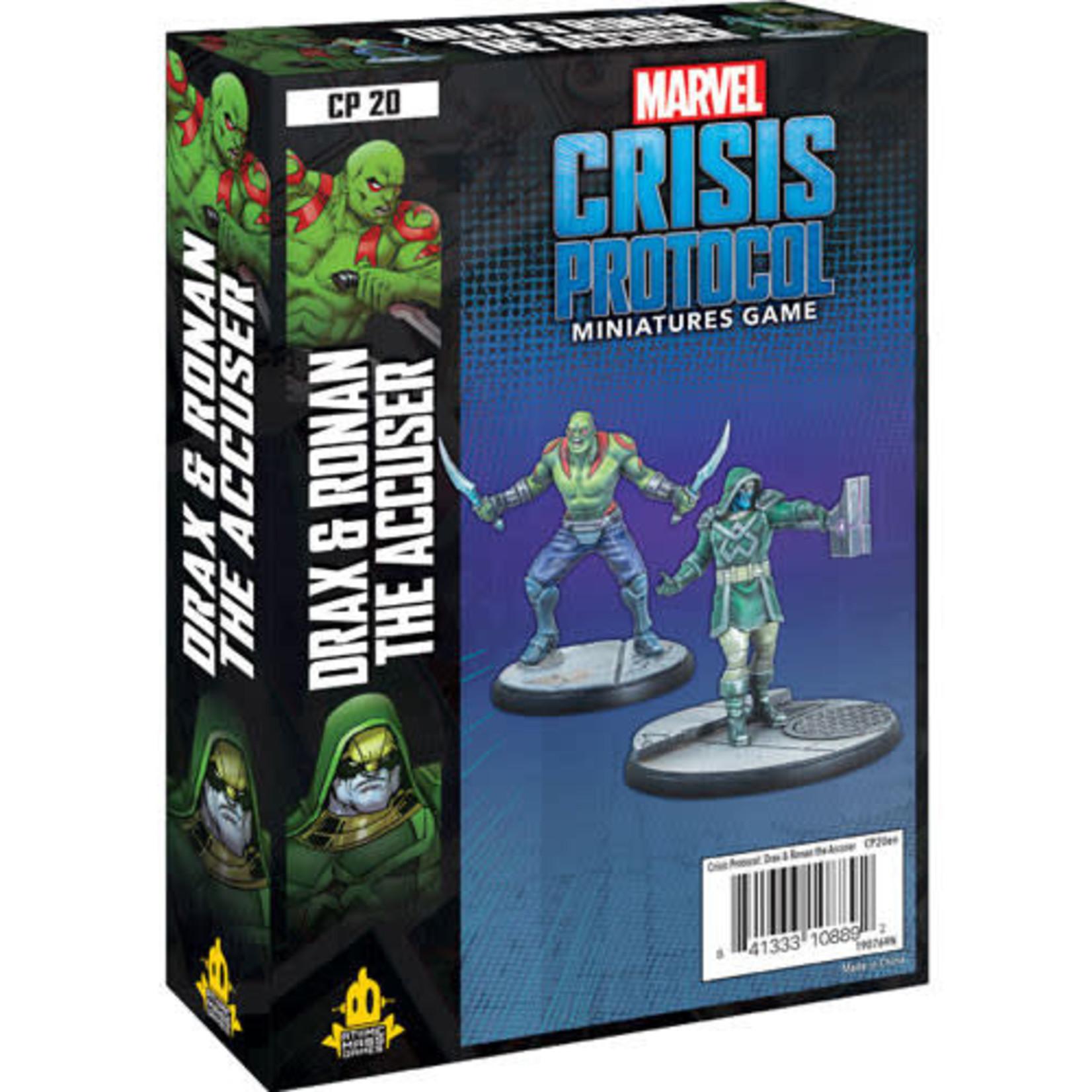 Asmodee Marvel Crisis Protocol - Drax & Ronan The Accuser