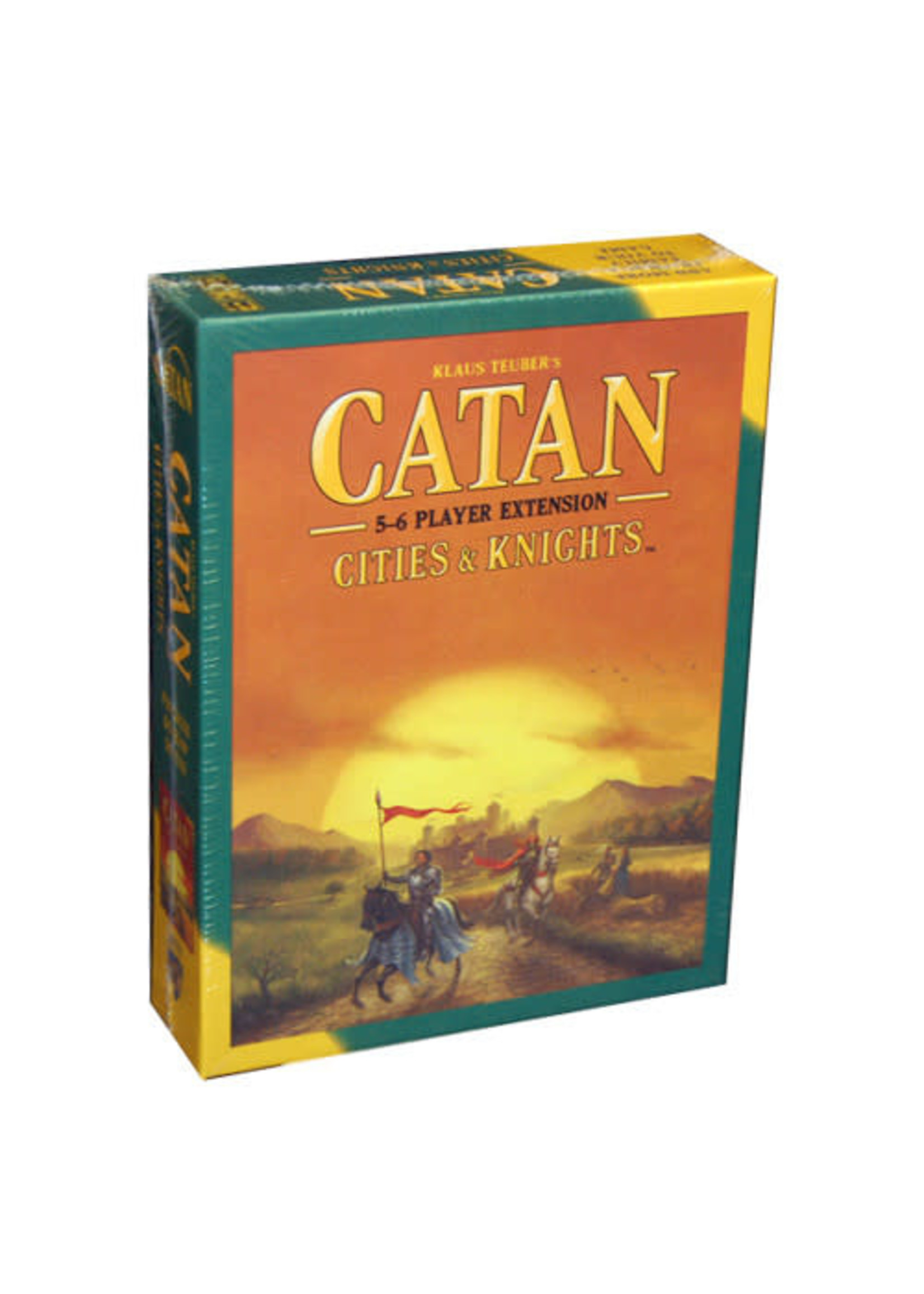 Asmodee Catan: Cities and Knights 5-6 Player Extension