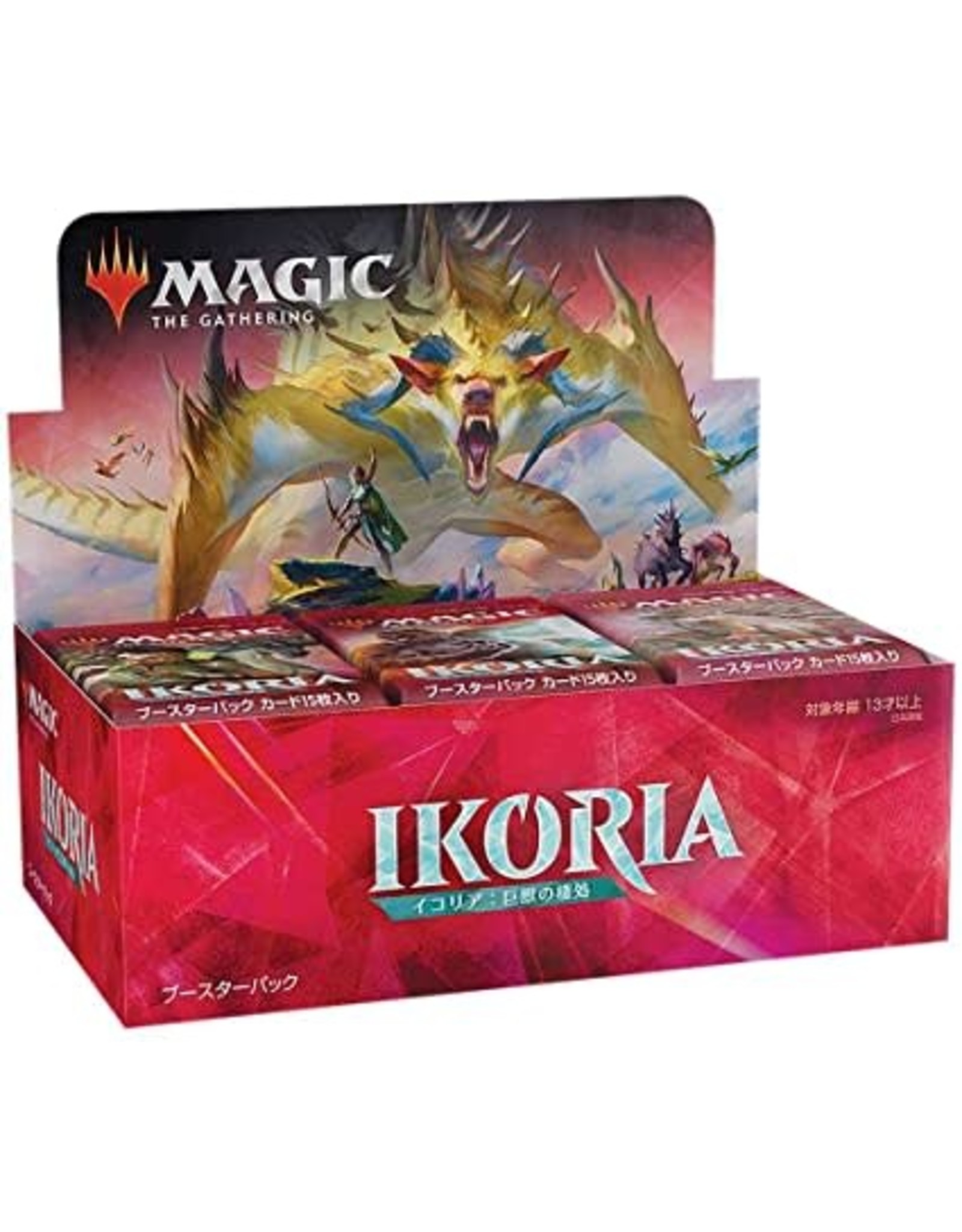 Wizards of the Coast Ikoria Booster Box JAPANESE