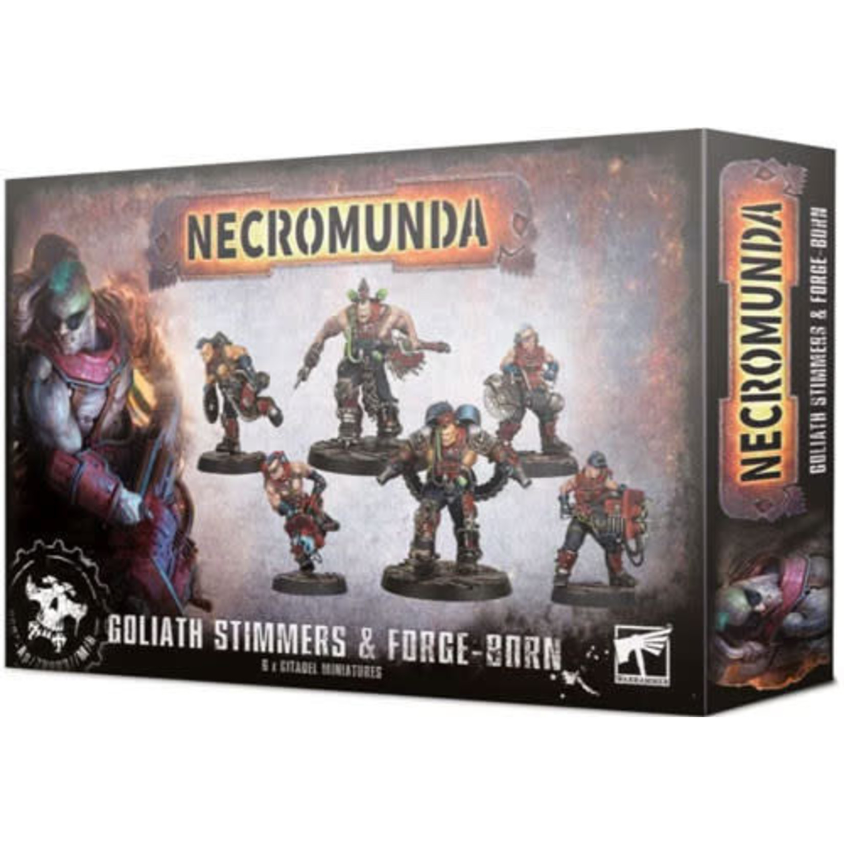 Necromunda Goliath Stimmers and Forgeborn