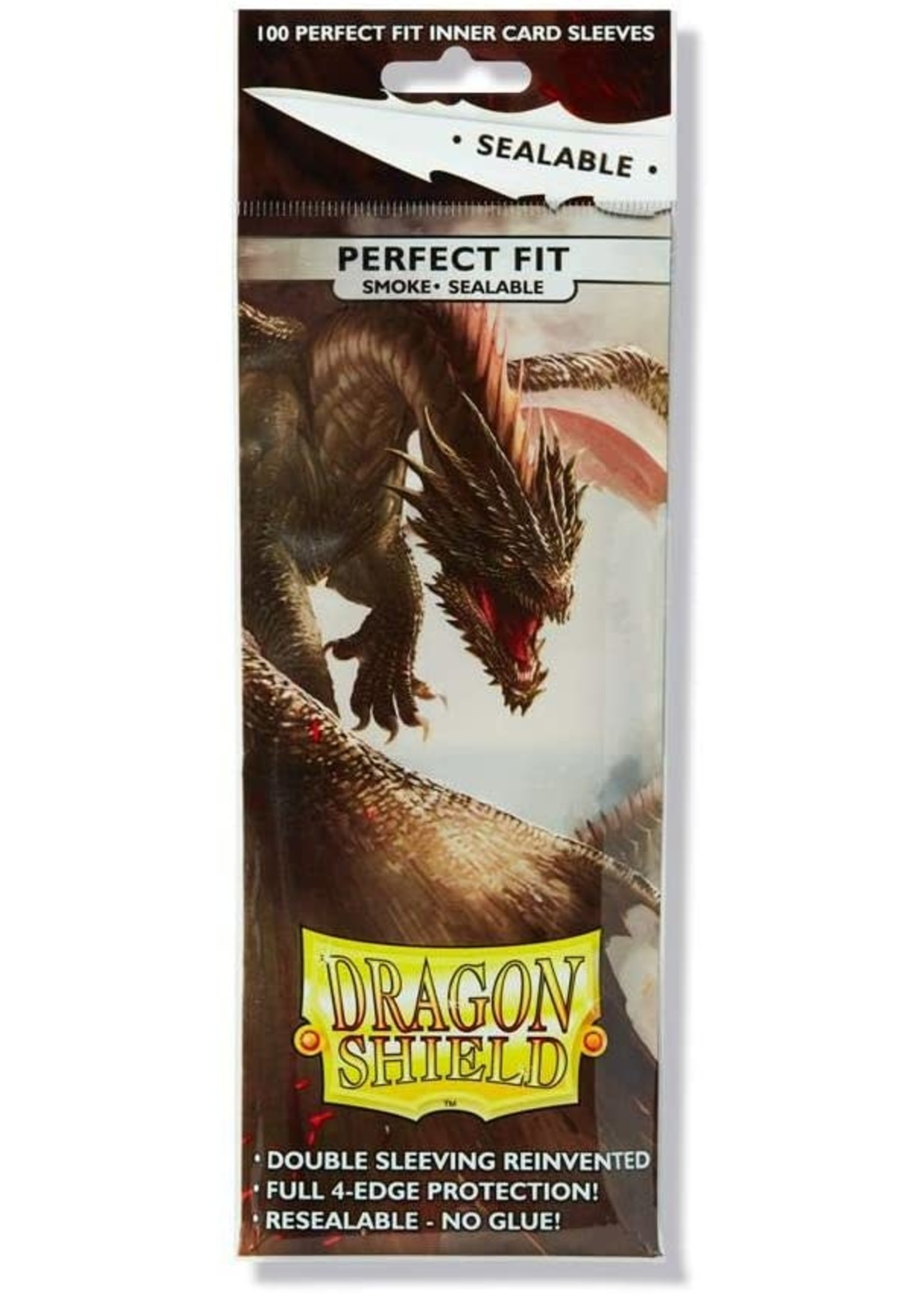 Dragon Shield Perfect Fit SEALABLE Smoke 100ct