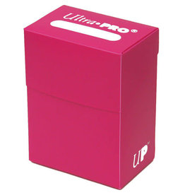 Ultra Pro Ultra Pro Deck Box Solid Hot Pink 80ct