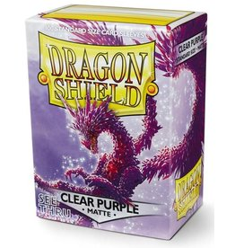 Dragon Shield Dragon Shield Matte Clear Purple 100ct