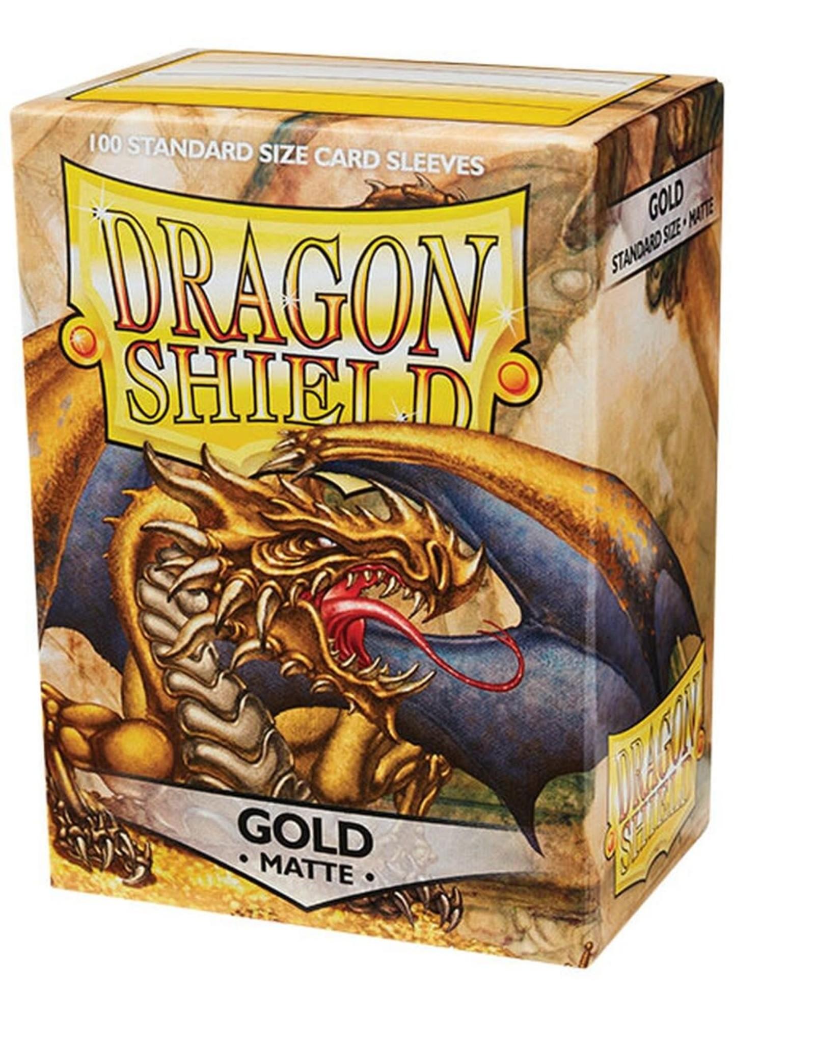 Dragon Shield Dragon Shield Matte Gold 100ct