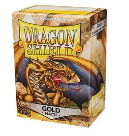 Dragon Shield Dragon Shield Matte Gold 100ct
