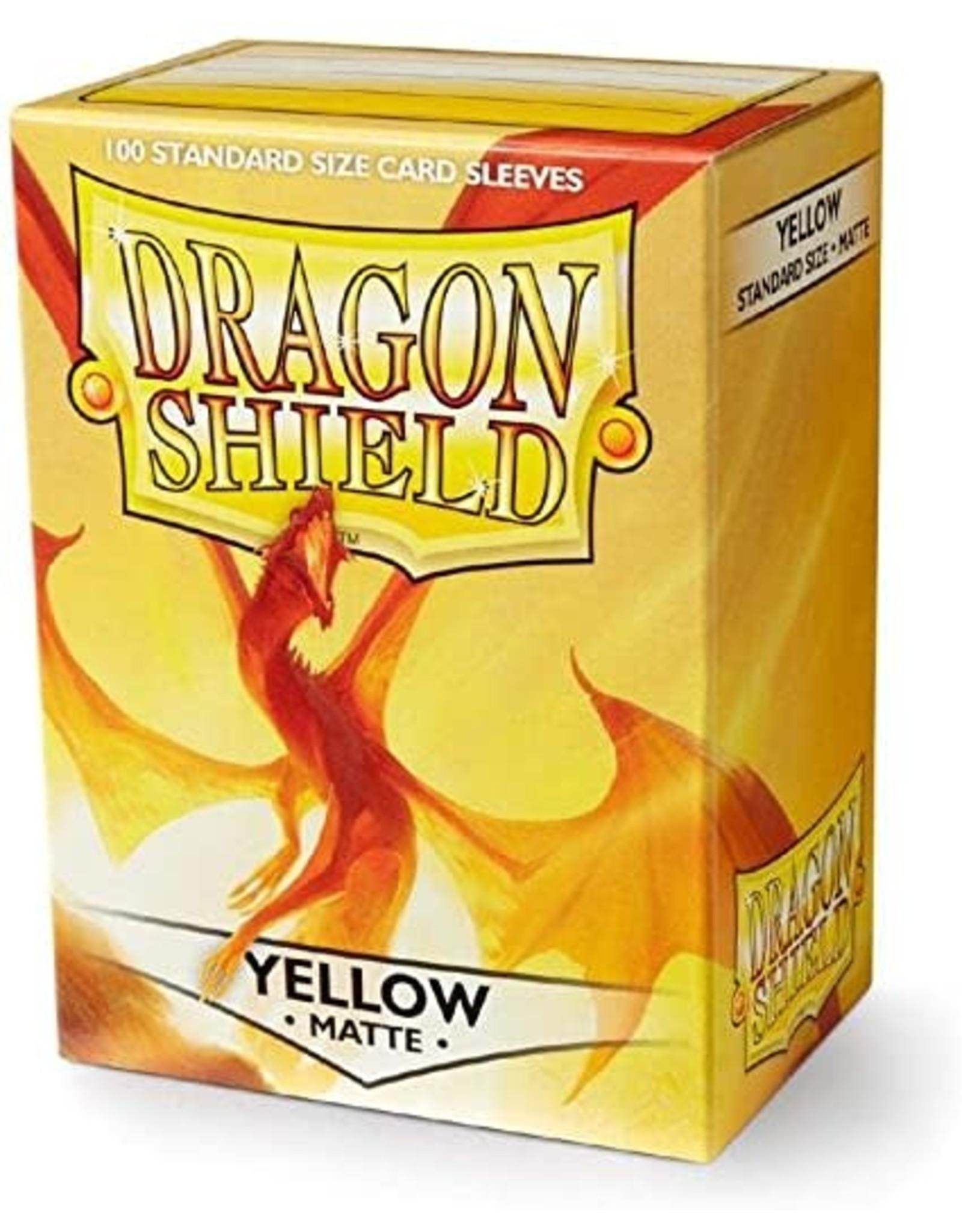 Dragon Shield Dragon Shield Matte Yellow 100ct