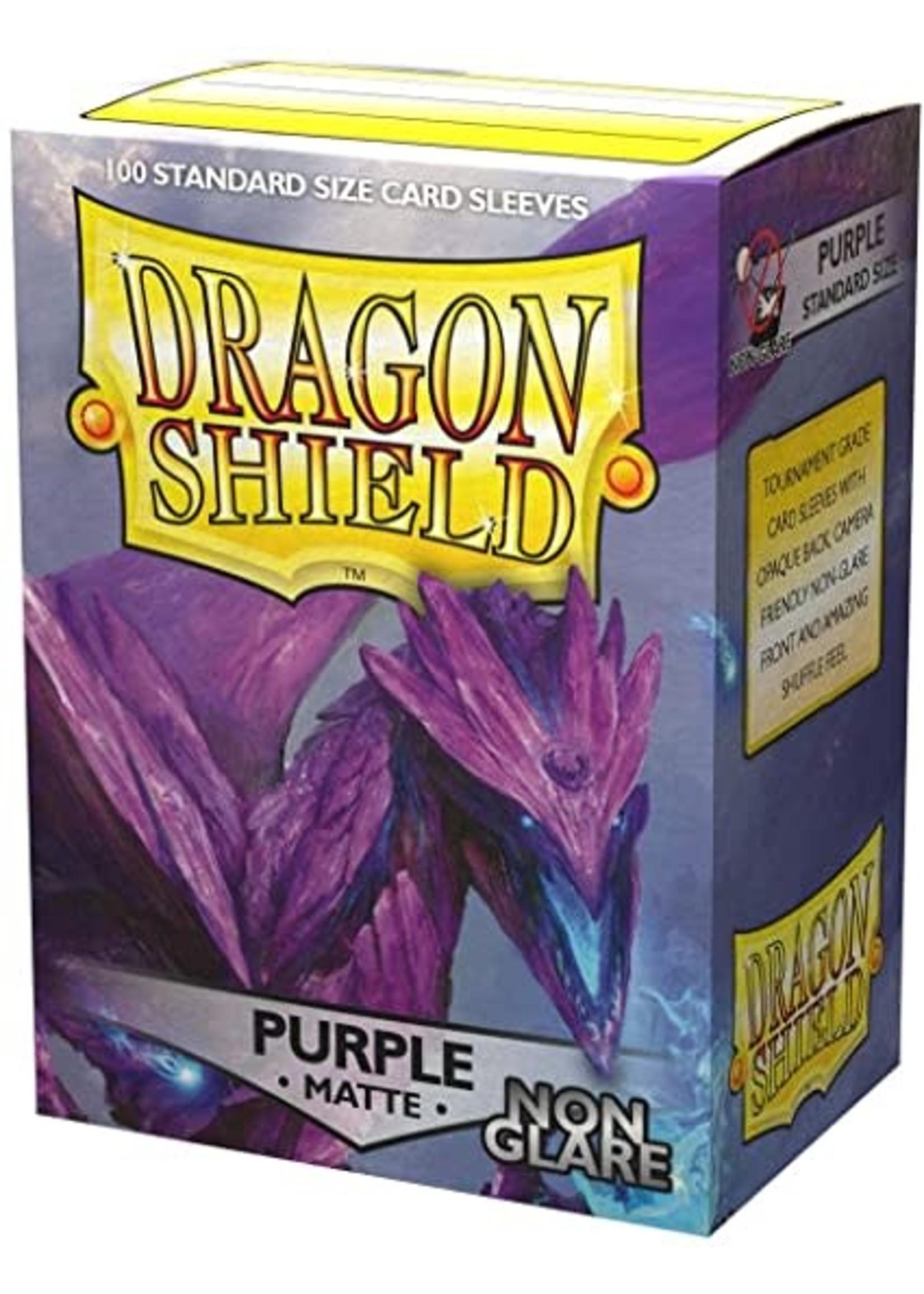 Dragon Shield Dragon Shield Matte Non-Glare Purple 100ct