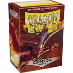 Dragon Shield Dragon Shield Matte Crimson 100ct