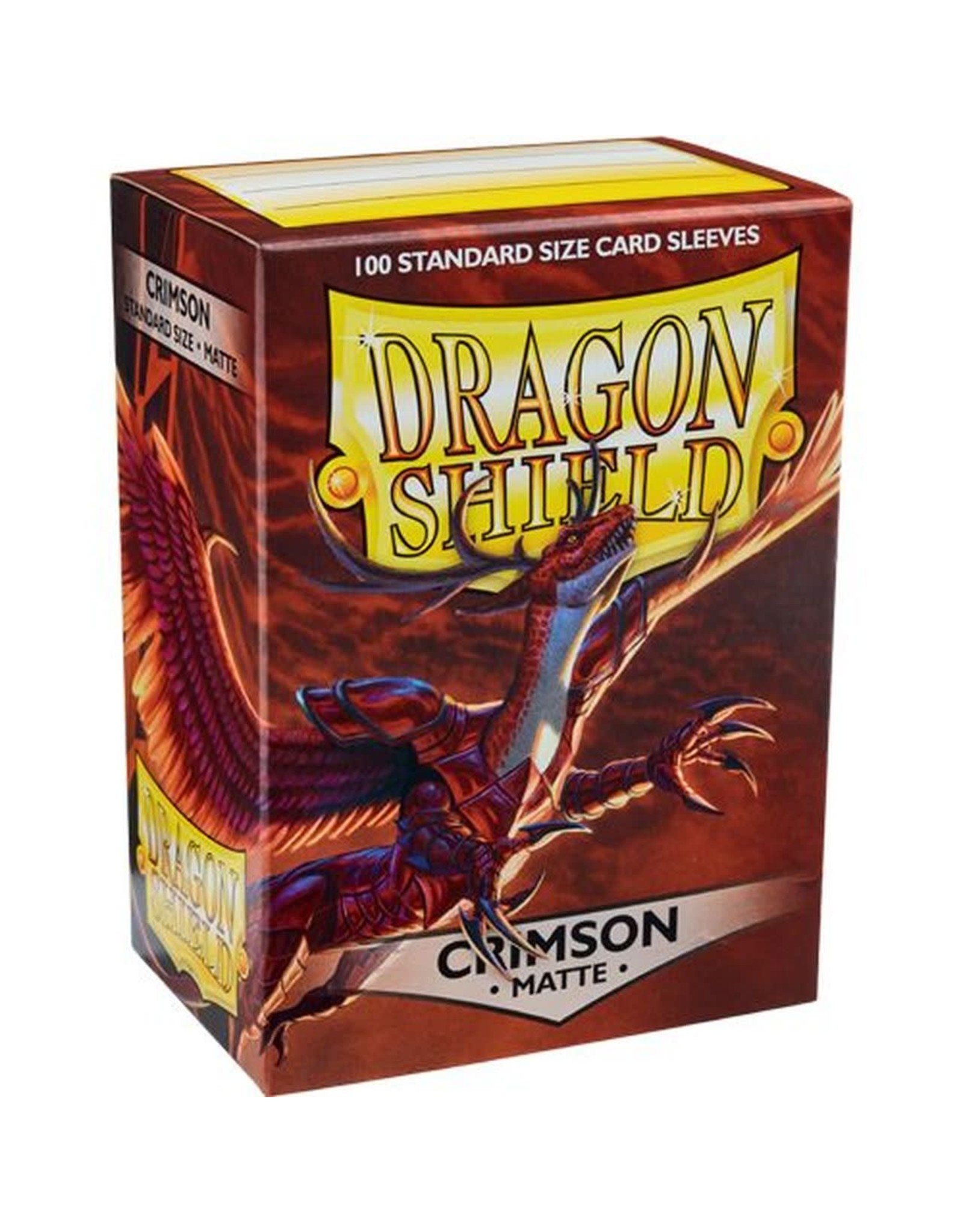 Dragon Shield Dragon Shield Matte Crimson 100ct