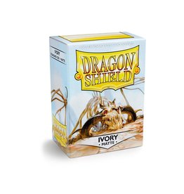 Dragon Shield Dragon Shield Matte Ivory 100ct