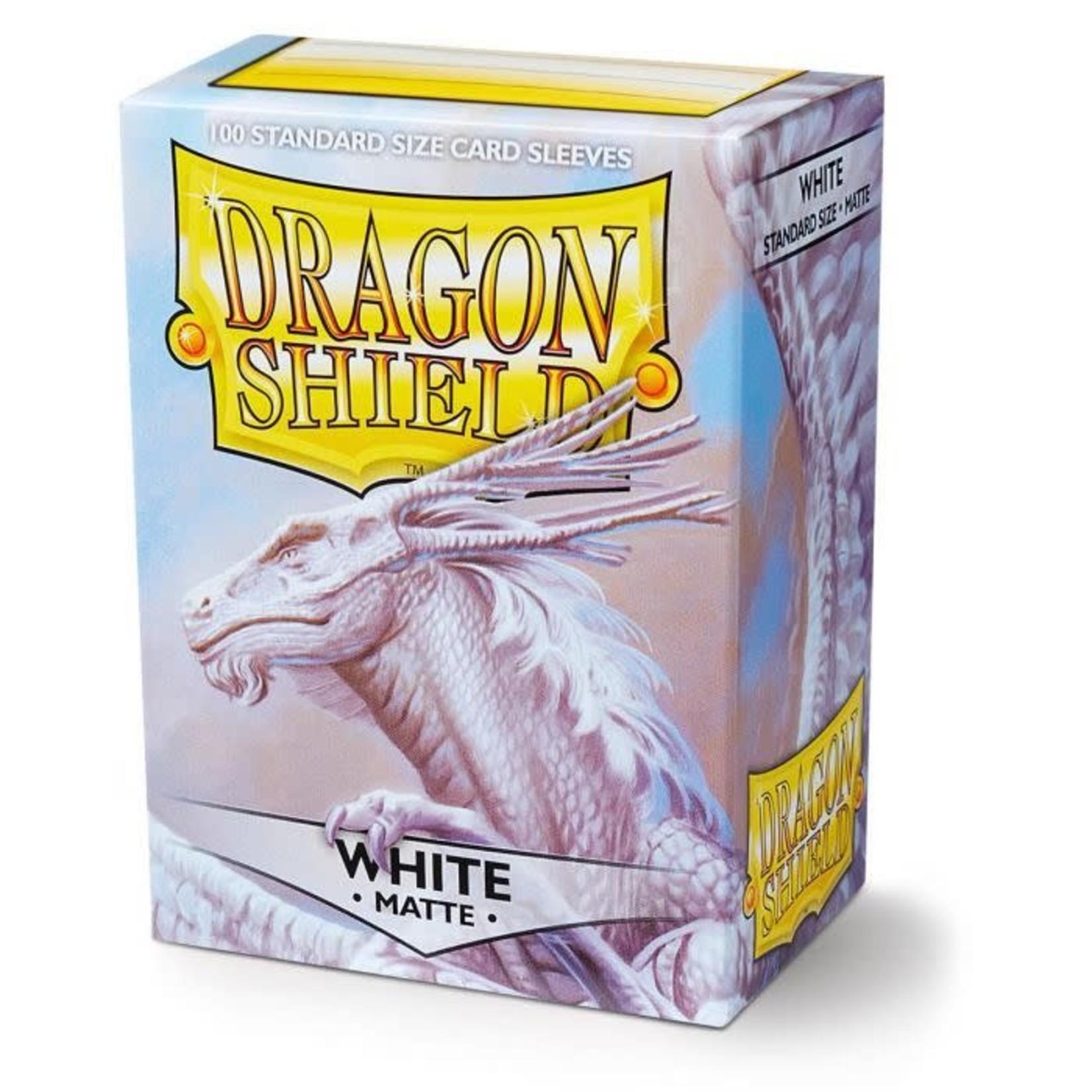 Dragon Shield Dragon Shield Matte White 100ct