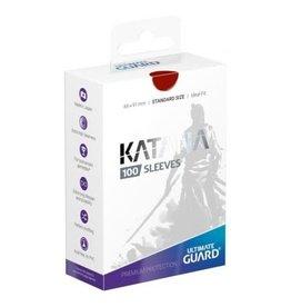 Ultimate Guard Ultimate Guard Katana Sleeves Red 100ct
