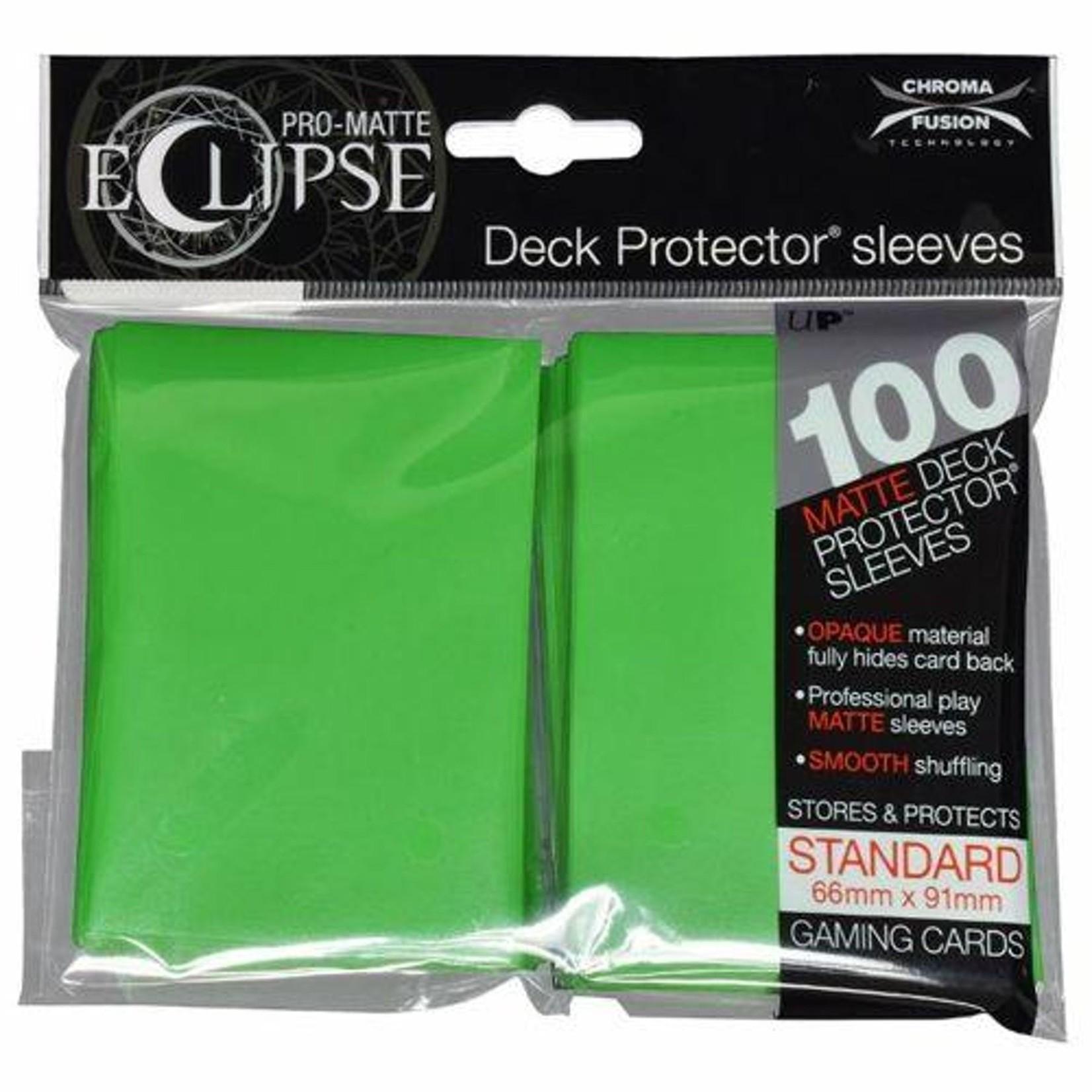 Ultra Pro Ultra Pro Eclipse Pro Matte Lime Green 100ct