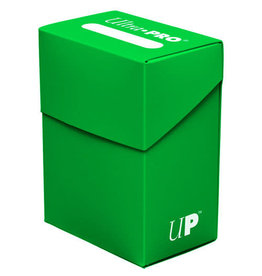 Ultra Pro Ultra Pro Deck Box Solid Lime Green 80ct