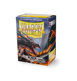 Dragon Shield Dragon Shield Matte Non-Glare Black 100ct