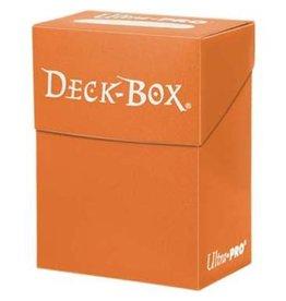 Ultra Pro Ultra Pro Deck Box Solid Orange 80ct