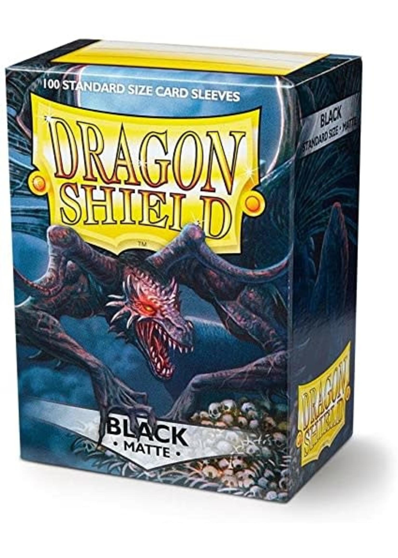 Dragon Shield Dragon Shield Matte Black 100ct