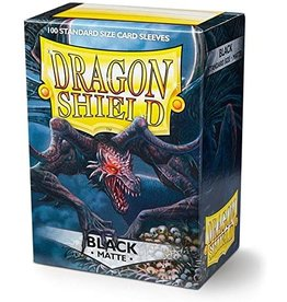 Dragon Shield Dragon Shield Matte Black 100ct