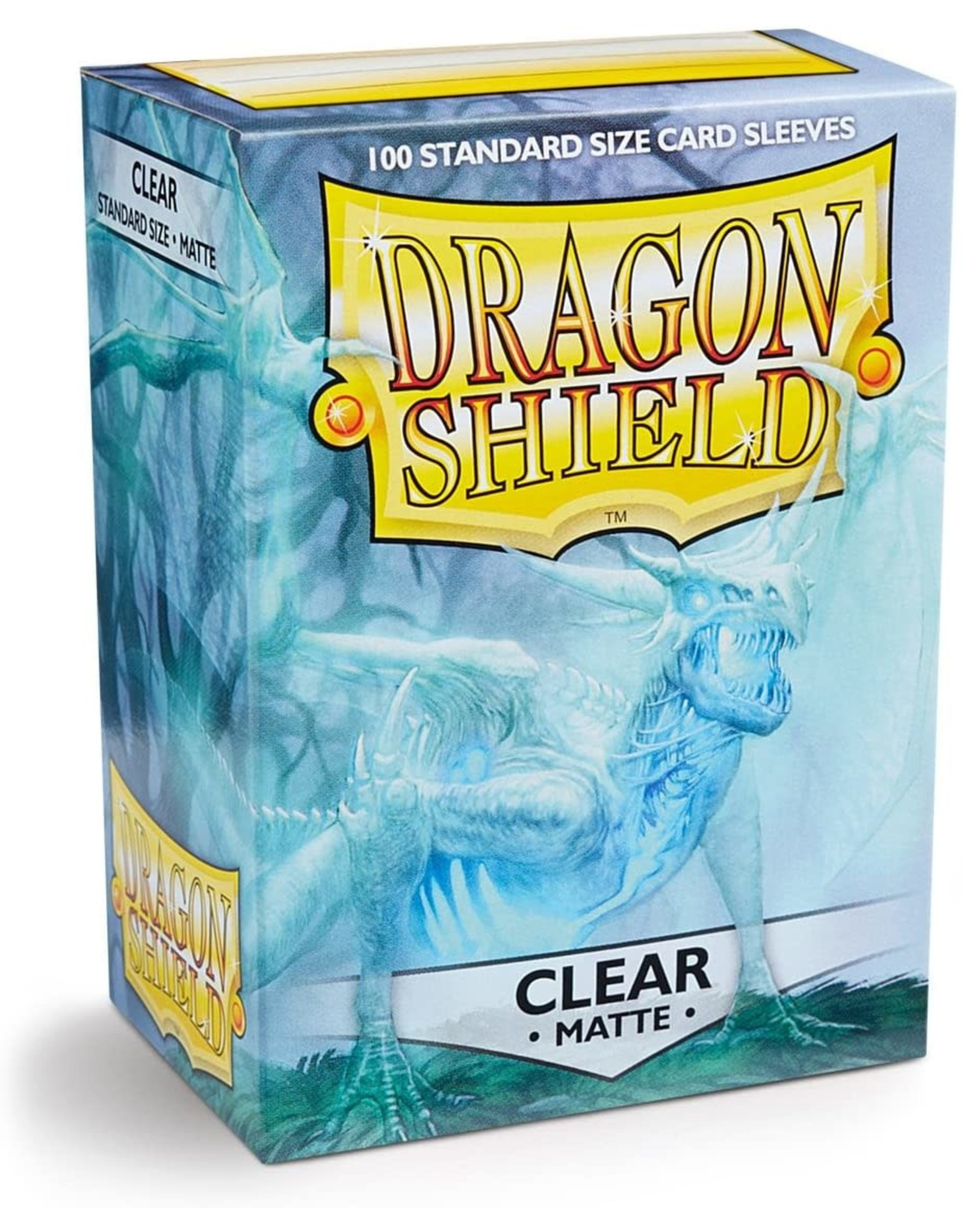 Dragon Shield Dragon Shield Matte Clear 100ct