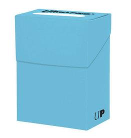Ultra Pro Ultra Pro Deck Box Solid Light Blue 80ct