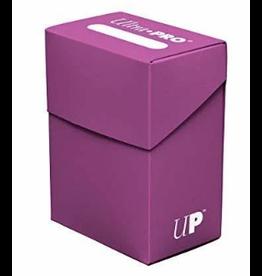Ultra Pro Ultra Pro Deck Box Solid Plum 80ct
